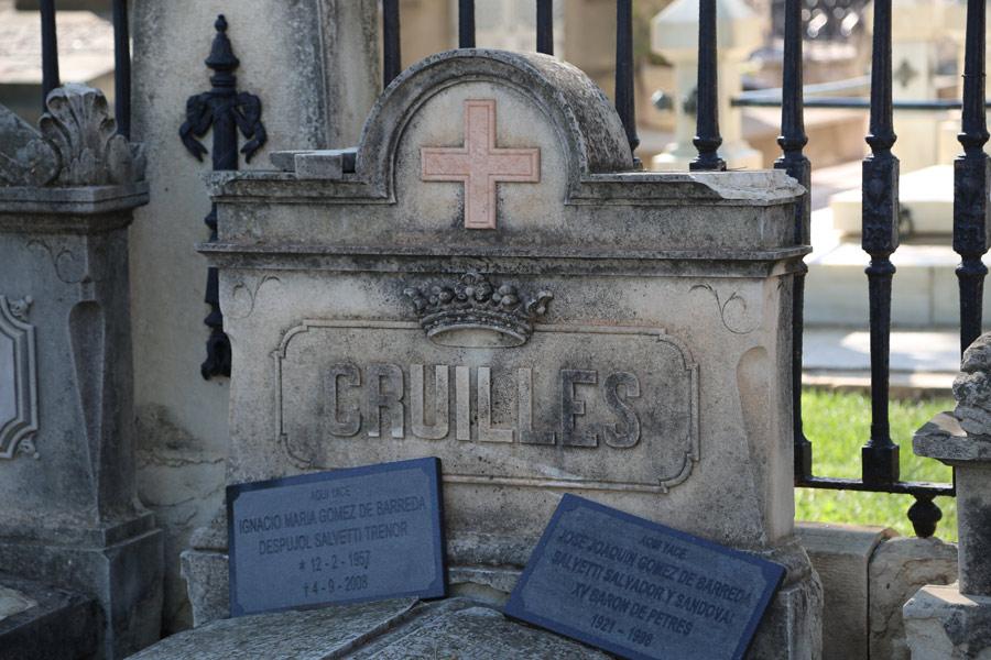Marqués de Cruïlles. Losa. Museo del silencio