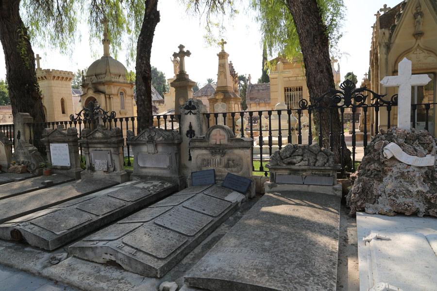 Tumba Marqués de Cruïlles en el Museo del Silencio. Cementerio General de Valencia