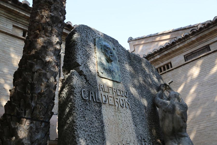 Alfredo Calderón en Museo del Silencio, de JC media