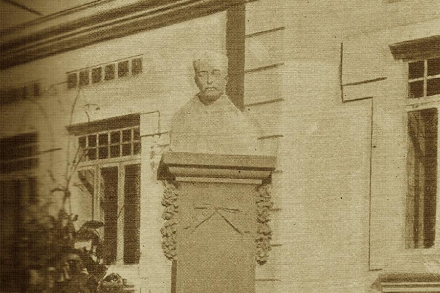 Retarto de Rafael Oloriz, en el Museo del Silencio. Cementerio General de Valencia