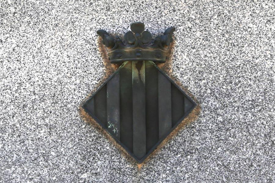 Escudo tumba de Sorolla. Museo del Silencio. Cementerio General de Valencia