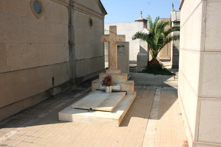 Nicho Lucrecia Bori, en el Museo del Silencio. Cementerio General de Valencia