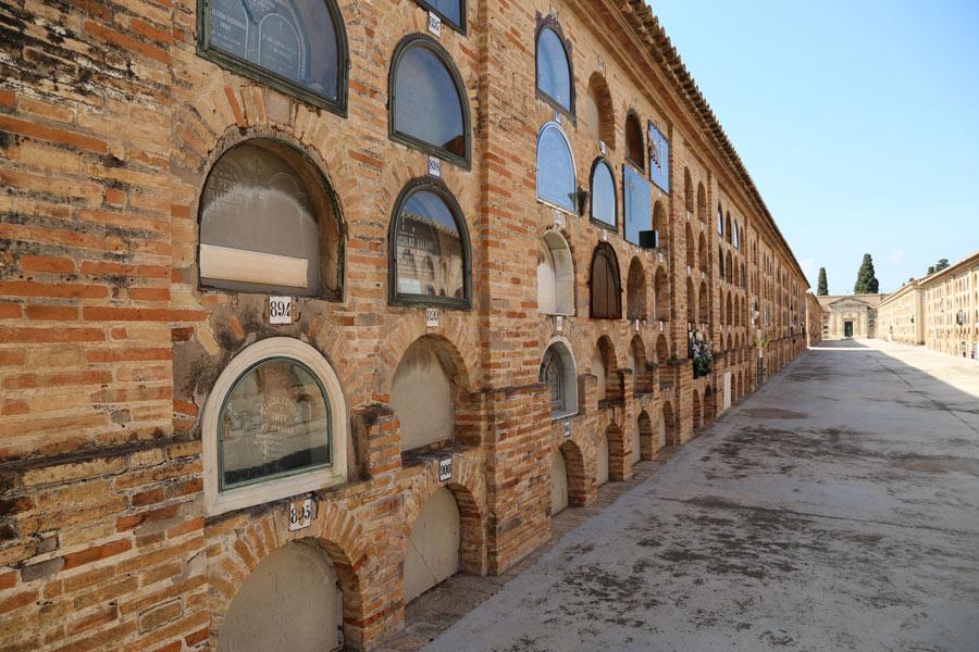 localizacion Luisa Esperón. Museo del Silencio. Cementerio General de Valencia