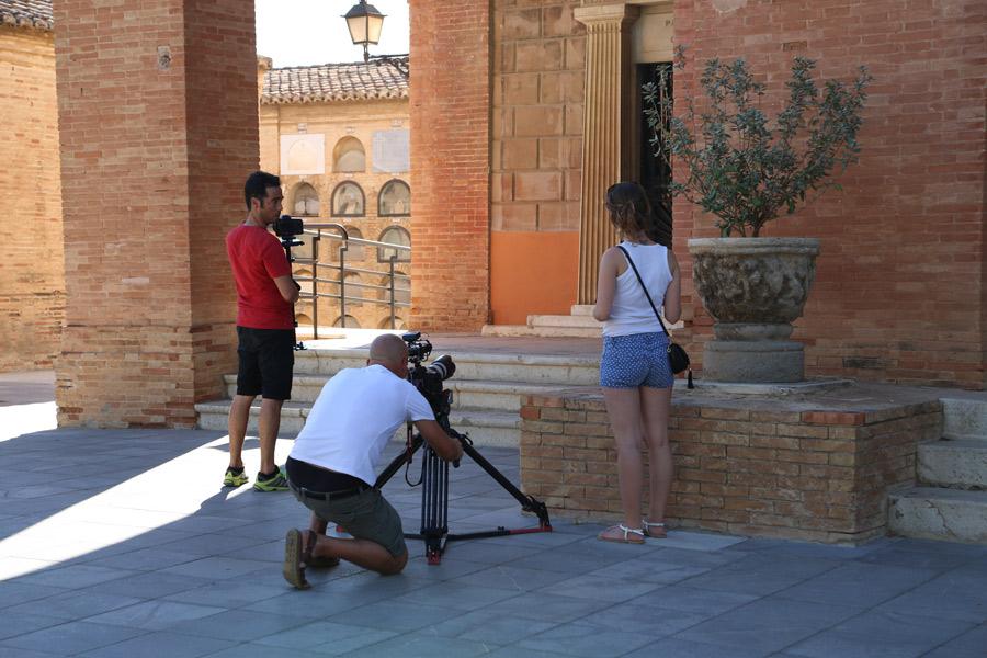rodando Museo del Silencio, de JC media y el Cementerio General de Valencia