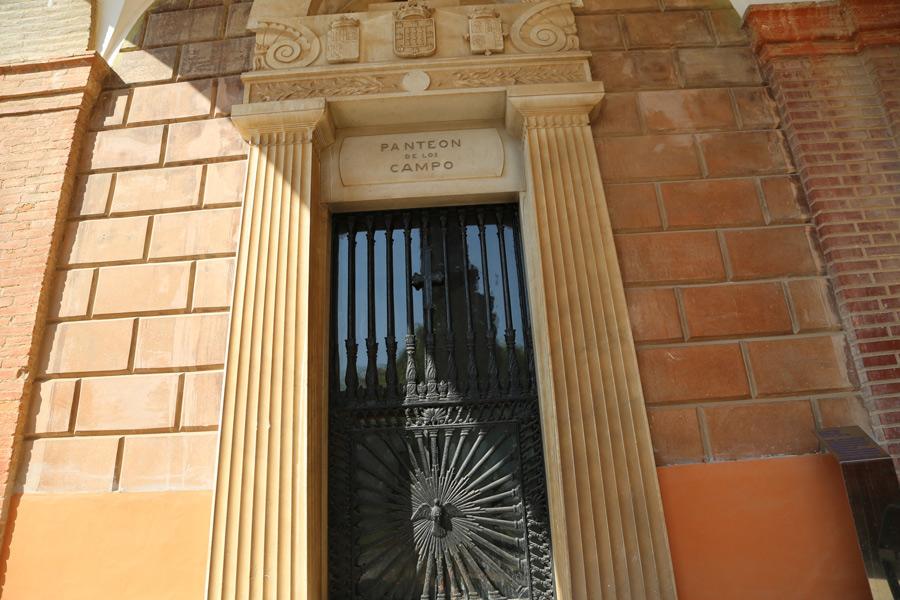 Tumba del Marqués de Campo, en Museo del Silencio, de JC media. Cementerio General de Valencia