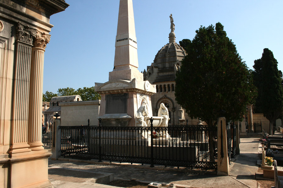 Panteón Marqueses de San Juan. Museo del Silencio. Cementerio General de Valencia