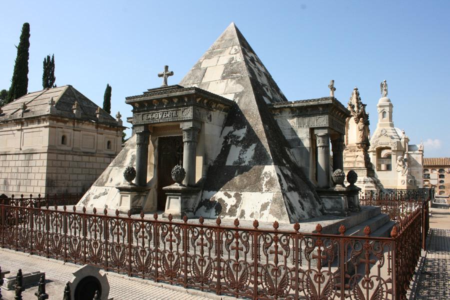 Pirámide de la familia Llovera
