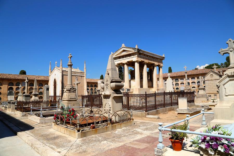 Situación panteón de Virginia Dotres. Museo del Silencio. Cementerio General de Valencia