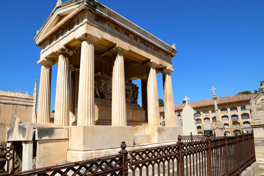 Panteón de Virginia Dotres. Museo del Silencio. Cementerio General de Valencia